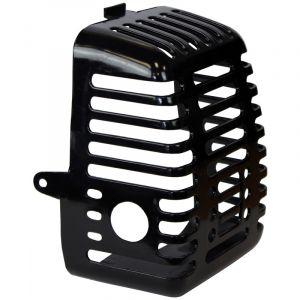 Cache de pot d'échappement pour débroussailleuse, multifonction 4 en 1, outil sur perche et tarière - GT GARDEN