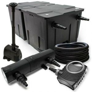 Kit de filtration biologique 24w bassin 60000 L max + tuyau et pompe fontaine - BIGB