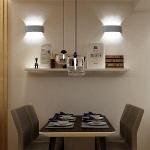 Lot de 2 LED Applique Murale 8W Up Down Industriel pour Chambre Couloir Lumière Blanche - WOTTES