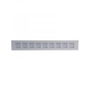 Grille aluminium à encastrer - 400 x 60 mm - Série 381/60 - Renson