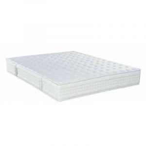Matelas Essenzia MERCURE 130x190 STRETCH Mousse - Blanc