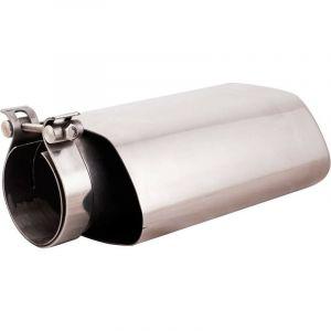 Sortie Echappement -Inox- Int 55-65mm - Ext 74x141mm - Long 220mm - ADNAuto - ADNAUTOMID