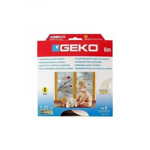 Geko Joint mousse PVC Profil I 9mmx3mmx6ml blanc - GECKO JARDIN
