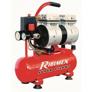 Compresseur 0,75cv silencieux sur cuve 6 litres - RIBIMEX