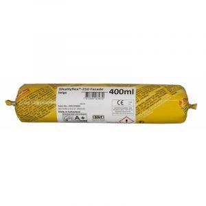 Mastic haute performance SIKA SikaHyflex 250 Façade - Gris béton - 400ml