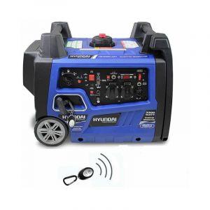 HYUNDAI Groupe électrogène démarreur élec 3500W HG4000iAR1 Inverter télécommande