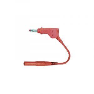 Cordon de mesure de sécurité [Banane mâle 4 mm - Banane mâle 4 mm] Stäubli 66.9411-10022 66.9411-10022 1 m rouge 1 pc(s)