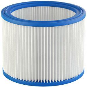 vhbw Filtre rond / filtre en lamelles pour aspirateur, robot aspirateur, multi-usages Nilfisk / Alto / Wap Aero 20, 21, 25, 26, 31