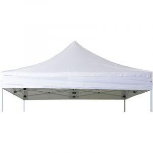 Bache de toit barnum pliant 3x3m Polyester pellicule PVC 300g/m2 - INTEROUGE