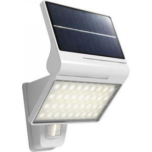 KITE - Applique Solaire LED IP44 - Détection IR - 5W Blanc Naturel 4000K - 350lm - Batterie Lithium-ion 2000mAh - Blanc - NORMALUX