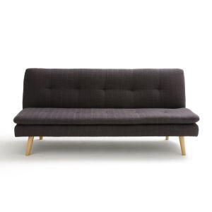 Banquette convertible Amagona Gris Anthracite - Taille 3 Places