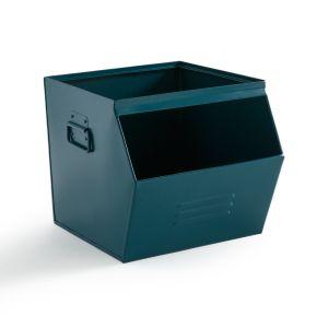 Casier empilable en métal, HIBA Bleu De Prusse - Taille Taille Unique
