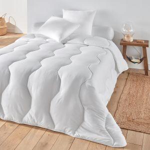 Couette Pratique, 100% polyester, qualité spécial Blanc - Taille 220x240 cm;140x200 cm;240x260 cm;200x200 cm;75x120 cm