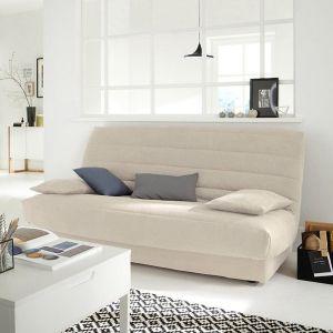 Bande socle en suédine pour clic-clac Beige Sable - Taille Taille Unique