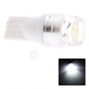 Ampoule LED pour Voiture à Lumière Blanche, T10, 1.5W (DC 12V)