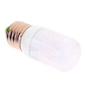 e27 6w 24x5730smd 480lm 2500-3500k lumière blanche chaude conduit ampoule de maïs (220-240V)