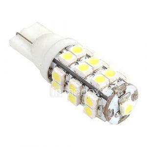 Ampoule Blanche LED de Voiture, 120-150Lm, T10 25 SMD
