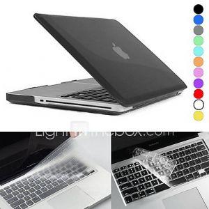 Coque de protection integrale mate  Film de protection clavier pour MacBook Pro 13.3 / 15.4 (Couleur au choix)