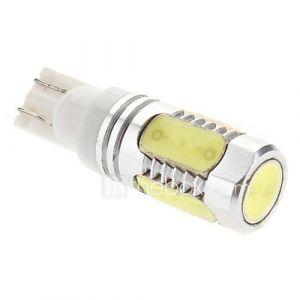 T10 8W 450-500lm Blanc Naturel Lumière LED Ampoule pour lampe Marker Instrument Voiture / Lecture / Side (12V)