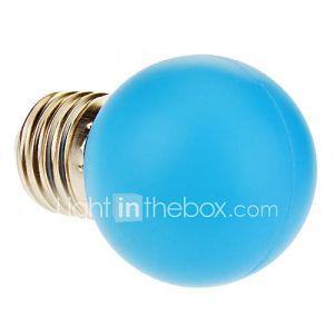 Ampoule Globe (Bleu 1 W- E26/E27 40 lm- AC 100-240