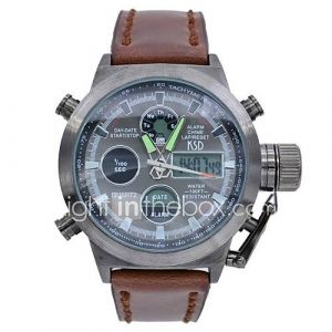 multifonctionnels analogique numérique montres de luxe 50m imperméables militaires sport montres pour hommes