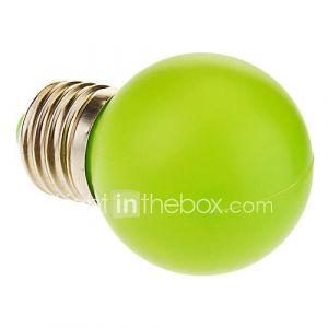 Ampoule Globe (Vert 1 W- E26/E27 50 lm- AC 100-240
