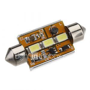Ampoule feston 39mm 1.5W 3x5730SMD lumière blanche LED pour la voiture lampe de lecture CANBUS (DC 12-24V)