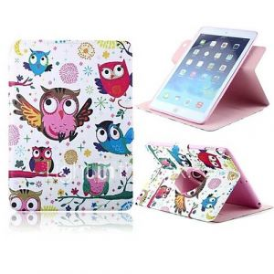 The Owl Design PU Full Body Case with Stand for iPad 2/3/4