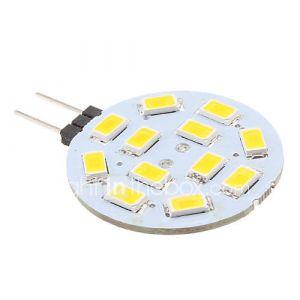 Eclairage Bi-pin (Blanc chaud 2 W- G4 220 lm- DC 12