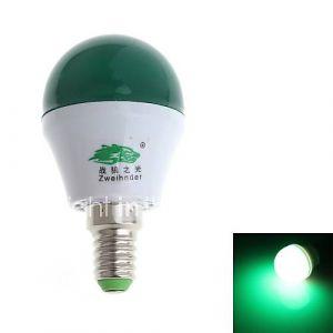 Ampoule Globe (Vert , Décoratif) - Sol - 3 W- E14 280-300 lm- AC 100-240