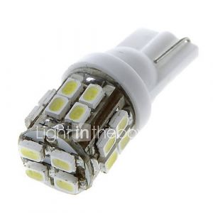 20 1206 SMD LED de voiture T10 168 194 W5W Side Wedge ampoule de lampe blanche