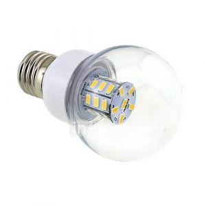 Ampoule Globe (Blanc chaud Sol - 4 W- E26/E27 500 lm- DC 12/AC 12/AC 24/DC 24