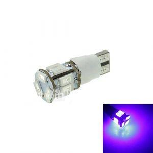 t10 mené deux-blue mode 5W 11x5630smd 550lm pour la lumière de frein de voiture (dc12-16v)