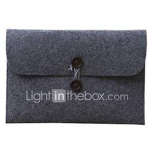 13,3 ''15,4'' cas ordinateur écologiques manches de couverture tissus portable pour MacBook Pro (de couleurs assorties)