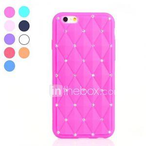 Diamonds Gypsophila Style Soft Case for iPhone 6