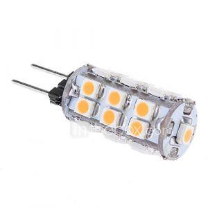 daiwl g4 1s 24x3528smd 80lm 3000k lumière blanche chaude conduit ampoule de maïs (12v))