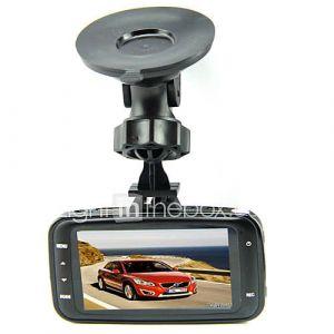 GS8000L origine lentille en verre 1080P voiture DVR 2,7 pouces LCD Avec G-sensor Novatek