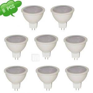 Spots (Blanc chaud MR16 - 7 W- GU5.3 560 lm- DC 12/AC 12