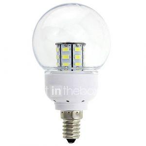 Ampoule Globe (Blanc chaud/Blanc froid , Décoratif 5 W- E14 380-410 lm- DC 12