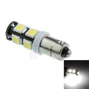 BA9S (T4W w6w) 4.5w 9x5060smd 280-360lm 6500-7500k lumière blanche pour lampe voiture de sigle (dc12-16v)