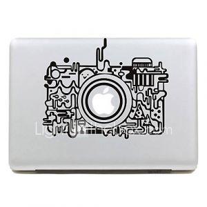 Sticker Style Appareil Photo Rétro pour MacBook Air Pro 11'',13'' et 15''