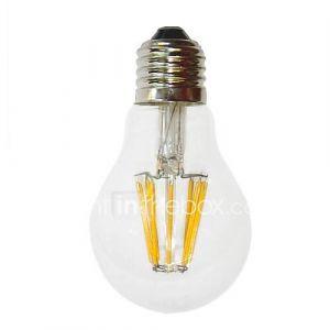 Ampoule Globe (Blanc chaud , Décoratif) - A - 7 W- E26/E27 700 lm- AC 100-240