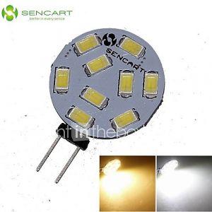 Spots ( Blanc chaud/Blanc froid , Décoratif ) - MR11 - 5 W- G4 360-380 lm- DC 12/AC 12/AC 24/DC 24 V- 1 pièces