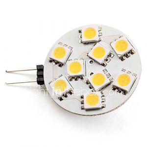 Spots (Blanc chaud 2.5 W- G4 100 lm- DC 12