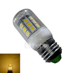 Ampoules Epis de Maïs (Blanc chaud 3 W- E26/E27 280 lm- AC 85-265