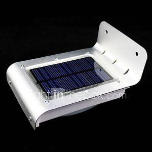 lampes énergie solaire extérieur 16 LED détecteur de mouvement détecteur de sécurité Garden Light