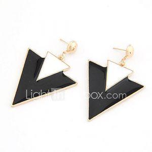 Boucles d'Oreilles en Triangle-Double, Style Punk (Autres Coloris Disponibles)
