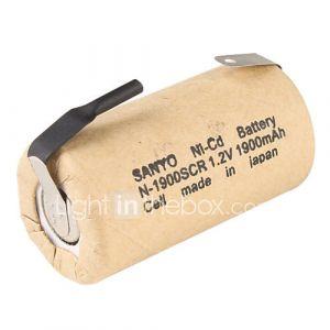 batterie Ni-Cd (1.2V, 1900 mAh)