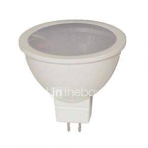 Spots (Blanc chaud MR16 - 9 W- GU5.3 720 lm- DC 12/AC 12
