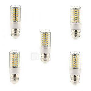 Ampoules Epis de Maïs (Blanc chaud 15 W- E26/E27 1500 lm- AC 100-240 V- 5 pièces